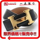 "Hermes H reversible belt box 60 Cafe x Bock scarf natural x black gold metal Y ticking ""response."""
