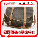 "43 Louis Vuitton monogram shoulder bag ""ソミュール"" M42252 》 fs3gm for 《"