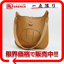 "Gold metal fittings T 刻 》 of 1 HERMES ""Ebb phosphorus"" GM shoulder bag avian Yong Clement's Brown line for 《"
