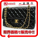 CHANEL enamel matelasse 25W chain shoulder bag black 》 for 《