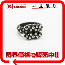 Ring 12.5 black 》 with the CHANEL 02A rhinestone for 《