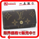 "4 four Louis Vuitton monogram ""ミュルティクレ"" key case M62631 》 fs3gm for 《"