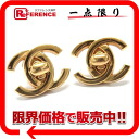 CHANEL 96P CC earrings gold 》 fs3gm for 《
