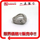 Gianni Versace Medusa rhinestone ring 12.5 silver 》 02P11Jan14 02P01Feb14 for 《