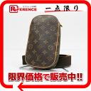"Louis Vuitton monogram ""ポシェットガンジュ"" body bag M51870 》 02P11Jan14 for 《"