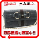 "Gucci TRACOLLA (トラコーラ) heritage clutch with chain wallet 2 fold wallet grey 245753 ""response.""-02P11Jan14"
