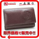 322117-free 》 02P11Jan14 of six gucci SOHO (Soho) leather key case Bordeaux origin for 《