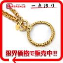 CHANEL loupe long necklace gold 》 02P11Jan14 for 《