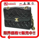 "Chanel Paris head office limited lambskin matelasse W chain shoulder black ""response."""