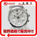"Longines conquest classic chronograph mens watch SS automatic self-winding L27864766 unused ""response."""