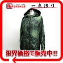 PRADA sports zip up parka 42 green system 28V006 》 02P01Feb14 for 《
