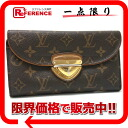 "Louis Vuitton monogram ""ポルトフォイユ Eugenie"" three fold long wallet M60123 》 for 《"