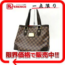 As well as brand new Louis Vuitton Damier Hampstead PM tote bag N51205? s support.""