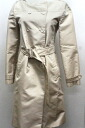"Prada now color to trench coat 38 beige ""response.""-02P05Apr14M"