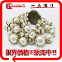 Dior MISE EN DIOR( ミーザンディオール) pearl bracelet costume jewelry bronze-based like-new D23981MD1 》 for 《