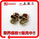 CHANEL Chanel 01A bijoux earrings gold x multi-color pre