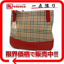 Burberry classical music check shoulder bag beige / red-free 》 for 《