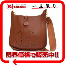 "Hermes Evelyn 1 GM shoulder bag slope brown gold bracket E ticking ""response."""
