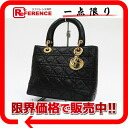 Dior lady dior lambskin handbag black 》 for 《