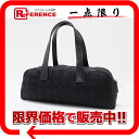 "Chanel Newt label line horizontal mini Boston bag black A15828 ""enabled."""