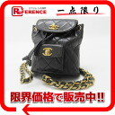CHANEL lambskin matelasse mini ruck case black 》 for 《