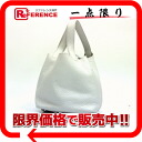 HERMES pico tongue PM handbag avian Yong Clement's white silver metal fittings H 刻 》 for 《