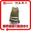 Canvas crocodile beige system 1AR663 》 02P05Apr14M with the PRADA TRAVEL CART (travel cart) carrier bag substitute bag for 《