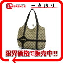 Gucci GG tote bag beige X dark brown 181502 》 02P05Apr14M for 《