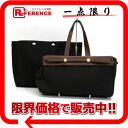 トートバッグトワルオフィシエールブラウンゴールド metal fittings F 刻 》 02P05Apr14M with the HERMES yell bag hippopotamuses GM substitute bag for 《