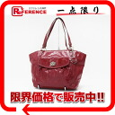 Coach patent leather signature tote bag red F15190 》 02P05Apr14M for 《