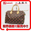 "25 Louis Vuitton Takashi Murakami monogram cherry ""speedy"" mini-Boston handbag M95009 》 for 《"