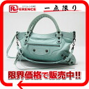 "BALENCIAGA editors bag ""the first"" mint green 103208 》 for 《"