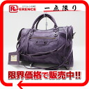 "BALENCIAGA editors bag ""the city"" purple 115748-free 》 for 《"