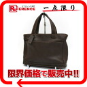Coach leather tote bag dark brown 9303 》 02P05Apr14M for 《