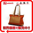Gucci canvas X leather shoulder tote bag dark orange X brown 》 for 《