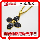 "Like Chanel 95A with bijoux pendant necklace gold new ""response.""-02P05Apr14M"