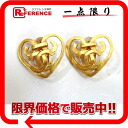 CHANEL Chanel 95P earrings gold used