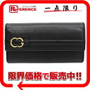 BI-fold leather Gucci RIDE ( ride ) two, unused wallet black 270005 02P05Apr14M? s support.""