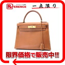"クシュベルゴールドゴールド metal fittings S 刻 》 with 28 HERMES ""Kelly"" sewing shoulder strap out of the handbag for 《"