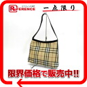 Burberry London check semi-shoulder bag beige X black 》 for 《