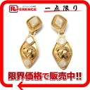 CHANEL 95P pearl earrings gold 》 for 《