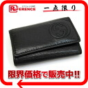 Six gucci SOHO (Soho) leather key case black 322117 》 for 《