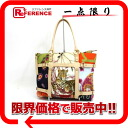 Ferragamo animal print flower tote bag multicolored 》 02P05Apr14M for 《