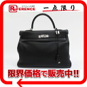 "Sewing handbag swift black silver metal fittings D 刻美品 》 02P05Apr14M in 35 HERMES ""Kelly"" for 《"