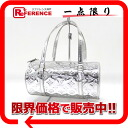 "Try Rakuten lows! モノグラムミロワール Louis Vuitton ""Papillon"" telescopic handbag Arjun (Silver) M95269 fs3gm"