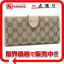 Gucci HEART( heart) GG W hook long wallet beige X ivory 203550 》 for 《