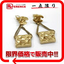 "Chanel 02P earrings gold ""response."""