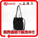 "HERMES ""market PM"" drawstring purse ショルダーバッグトゴブラックシルバー metal fittings-free 》 for 《"