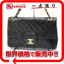 CHANEL lambskin matelasse 25W chain shoulder bag black 》 for 《