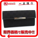 Gucci METAL BAR( metal bar) GG W hook long wallet black 112715-free 》 for 《